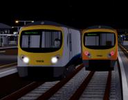 2 Class 185s