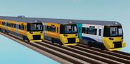 NG Class 333 and Class 332