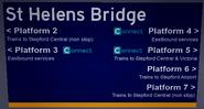 St Helens Bridge Board