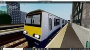 Class 321 arriving and departing Leighton Stepford Road - SCR Roblox