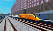 Class 802 New Livery @ Airport Parkway