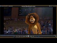 Madagascar Alex gets Tranquilized Scene