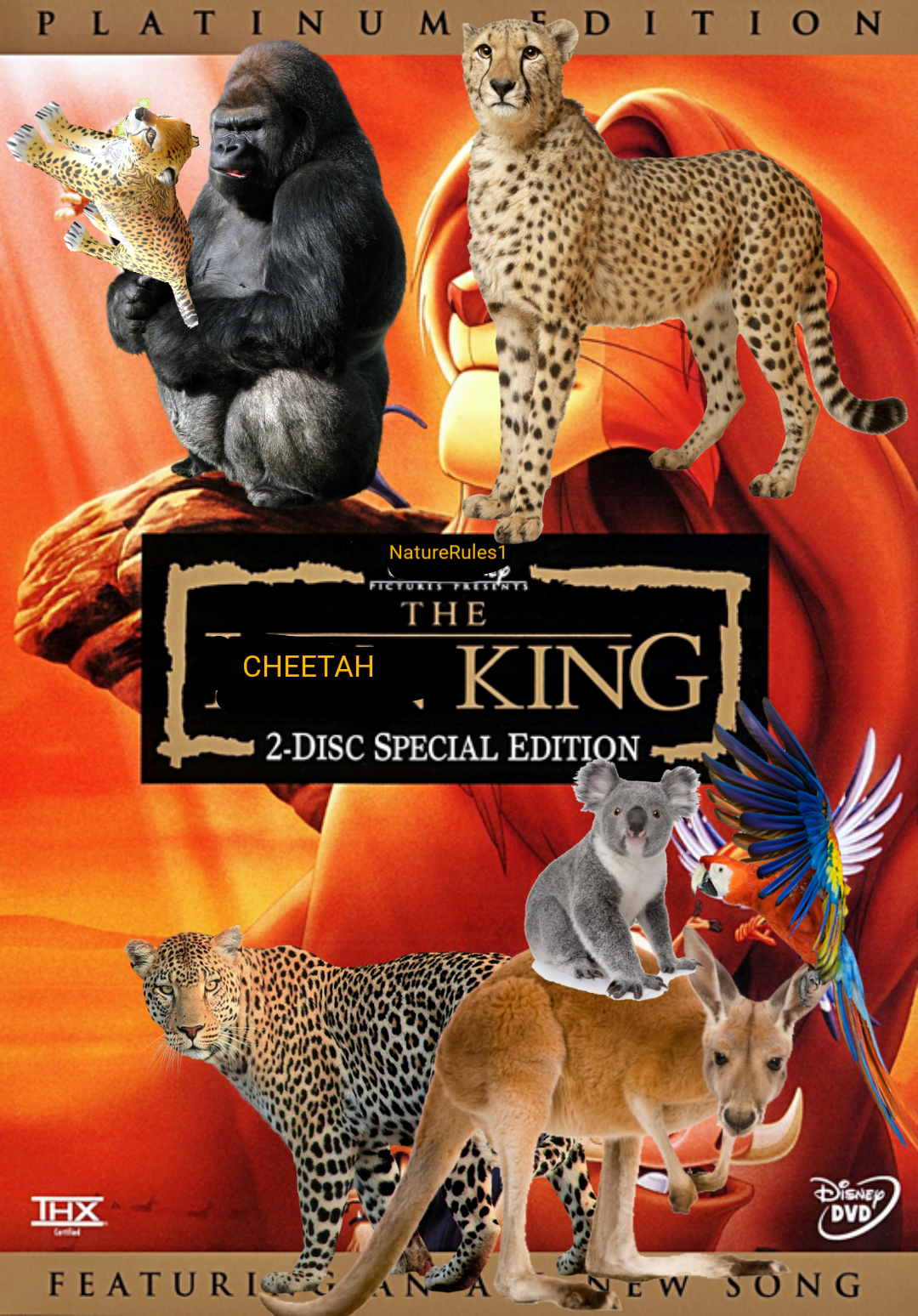 The Cheetah King (NatureRules1 Version)