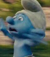 Panicky Smurf in The Smurfs 2