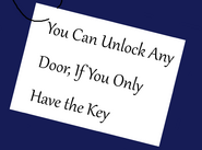 You Can Unlock Any Door, If You Only Have the Key By Thebackgroundponies2016Style