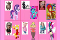 Non Disney Animal Heroines (Thebackgroundponies2016Style) Cast Meme Part 2