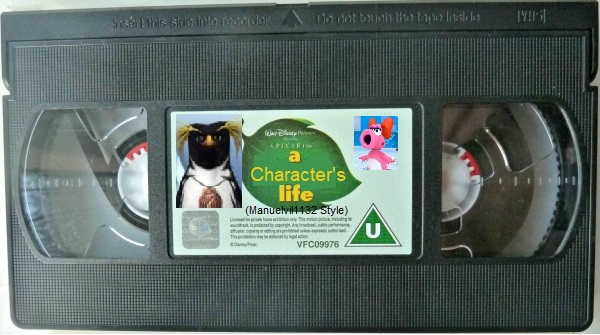 A Character's Life (Manuelvil1132 Style) (UK VHS Tape)