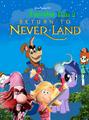 Favireton Pan Return to Neverland Poster