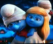 Smurfette and Clumsy Smurf Live Action