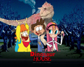 The Dinosaur House (Thebackgroundponies2016Style)