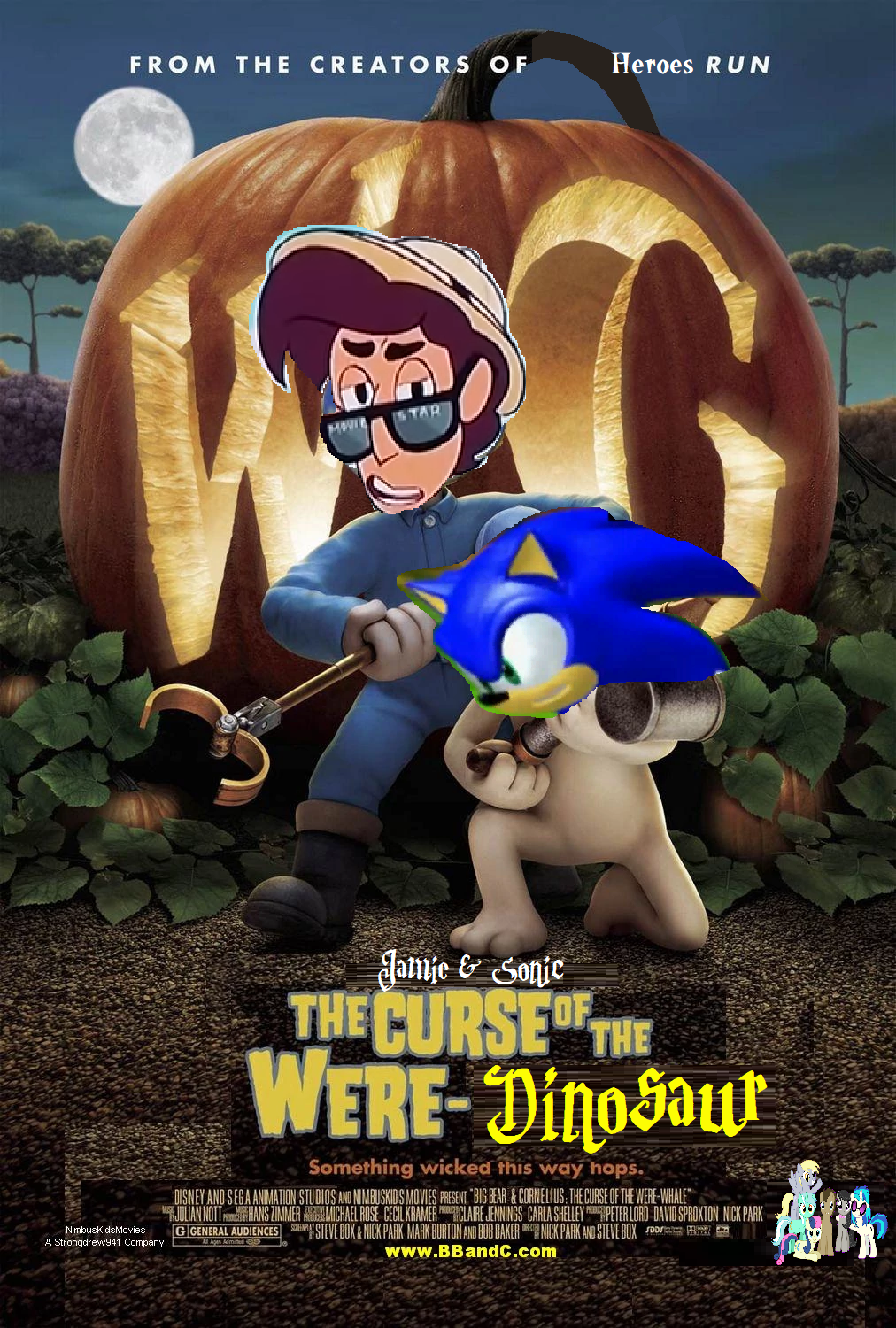 Jamie & Sonic: The Curse of the Were-Alleycat