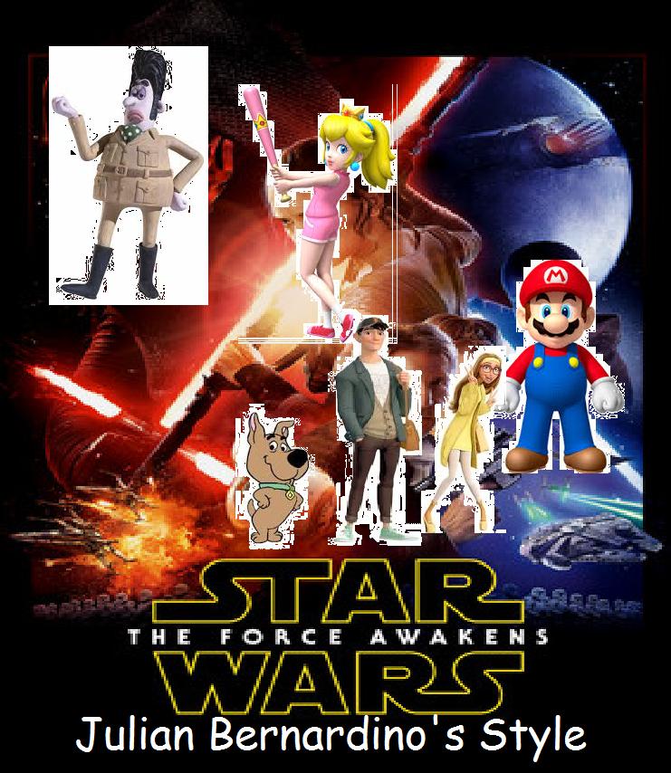 Star Wars Episode 7 - The Force Awakens (Julian14bernardino Style)