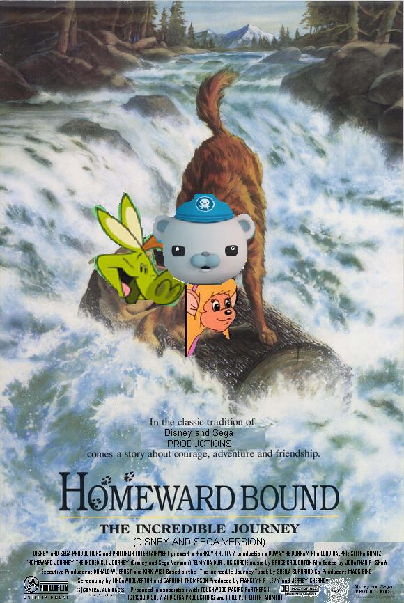 Homeward Bound The Incredible Journey (Disney and Sega Version)