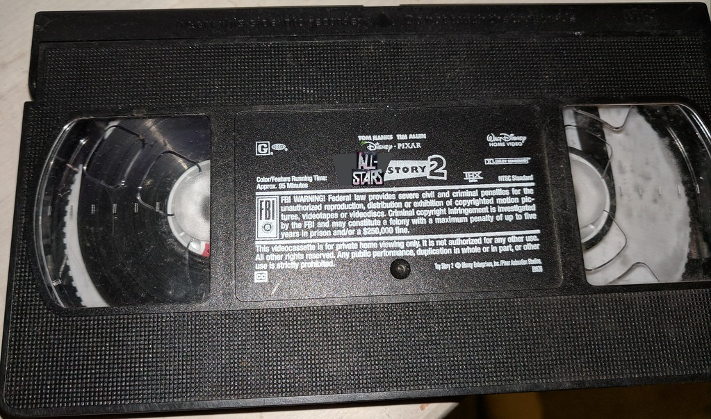 All-Stars Story 2 (VHS Tape)