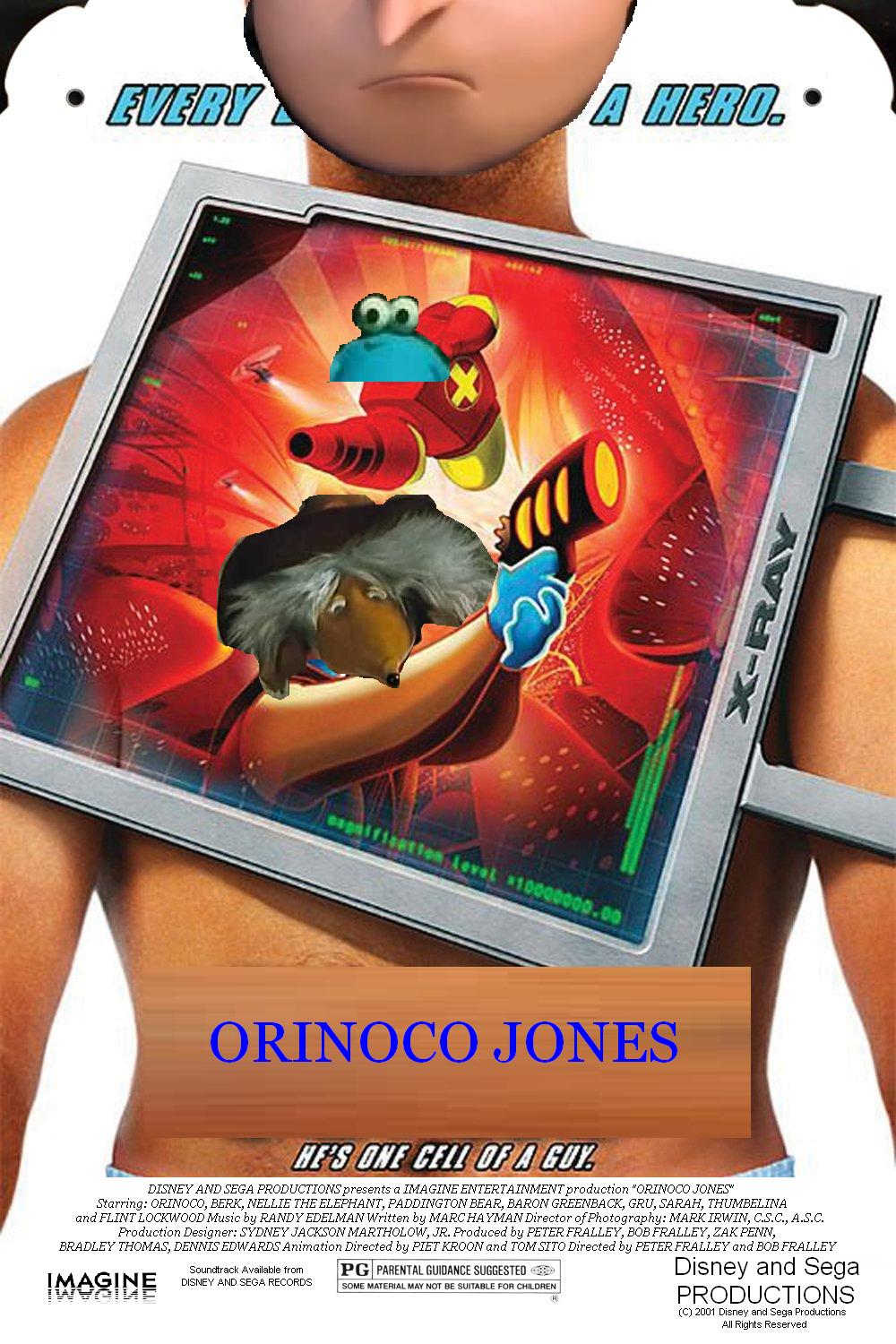 Orinoco Jones