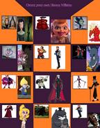 Disney Villains (MLPCVTFB's Version)