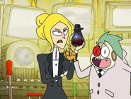 The Spy from Apartment 8-I and Lord Boxman Get That Bottle by Thebackgroundponies2016Style
