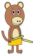 Bernice Primate (two sabers)