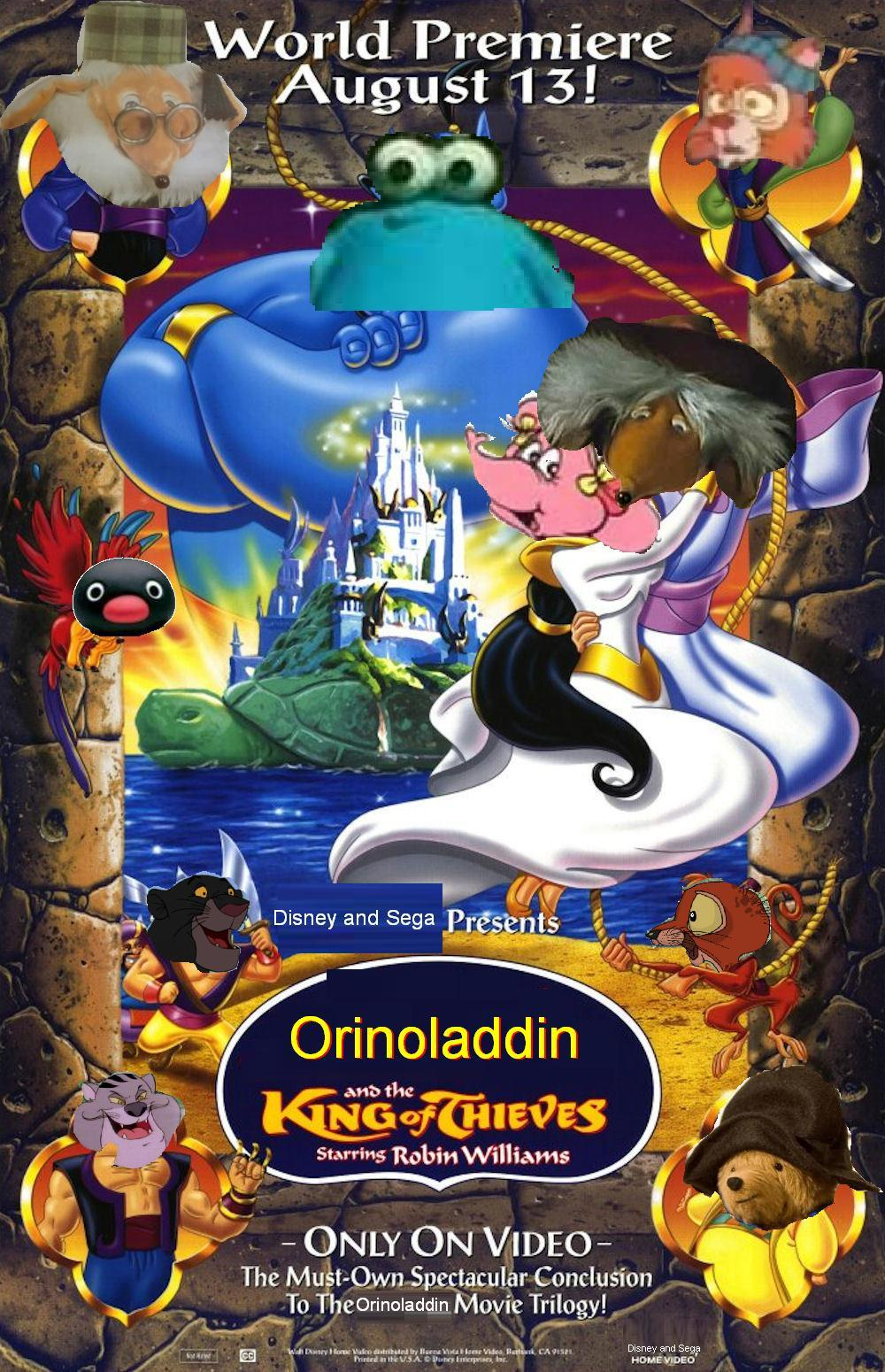 Orinoladdin 3: The King of Thieves