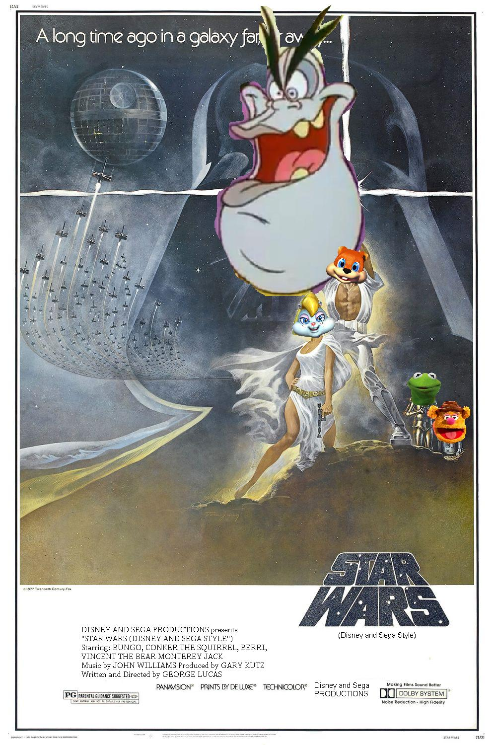 Star Wars Episode 4: A New Hope (Disney and Sega Style)