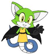 Jia the Anacondrai Bat Hybrid
