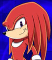 Knuckles the Echidna in Sonic X
