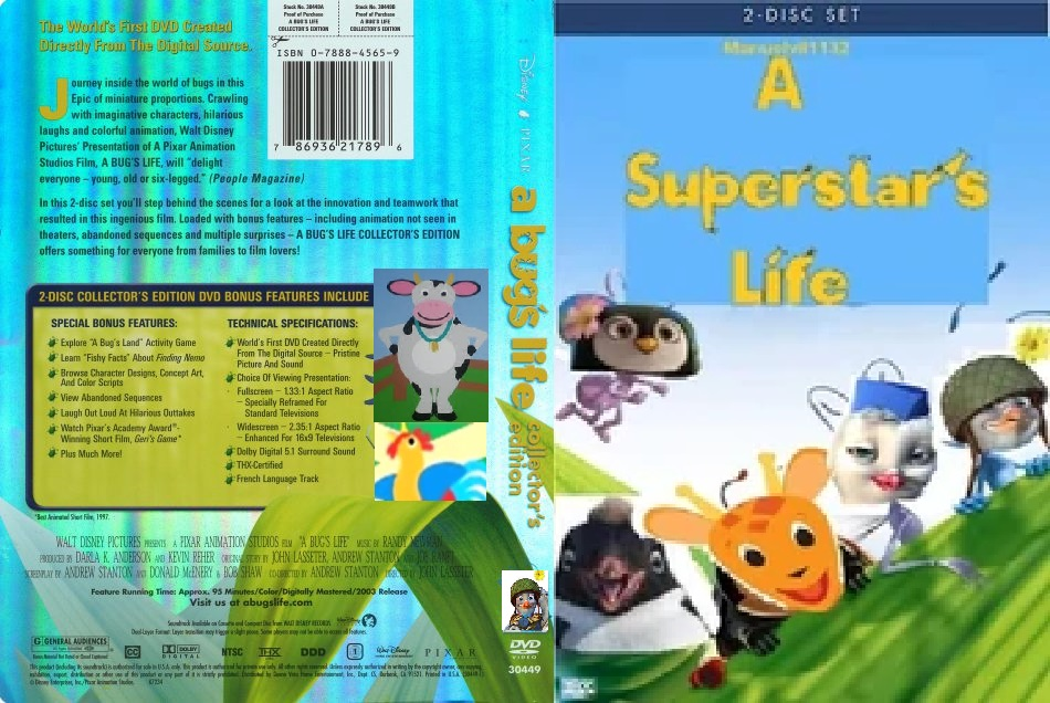 A Superstar's Life (DVD Cover)