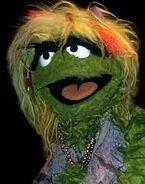 Grungetta in Sesame Street