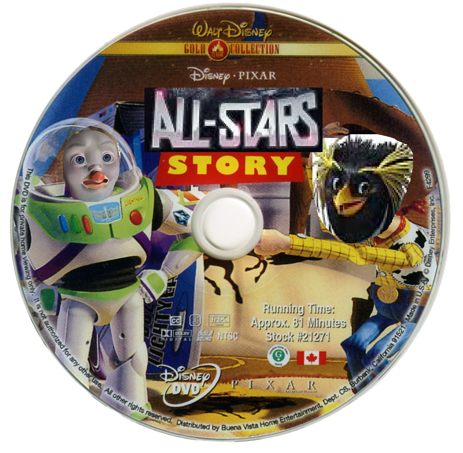 All-Stars Story 1 (DVD Disc)