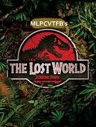 The Lost World Jurassic Park (1997) VHS Cassete film