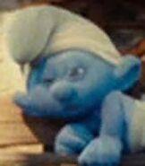 Lazy Smurf in The Smurfs 2021