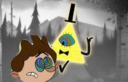 Bill Cipher Hypnotizes Ansi