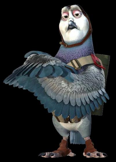 Mercury the Pigeon