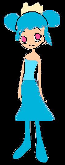 Blue Smoooooch Dancer