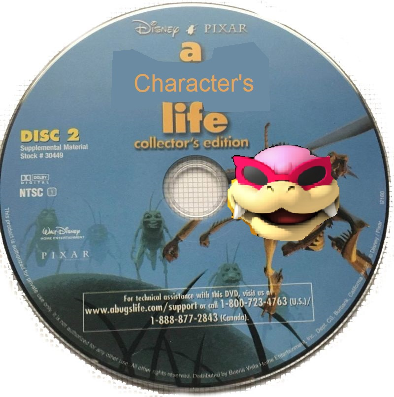 A Character's Life (Manuelvil1132 Style) (DVD Disc) (Disc 2)