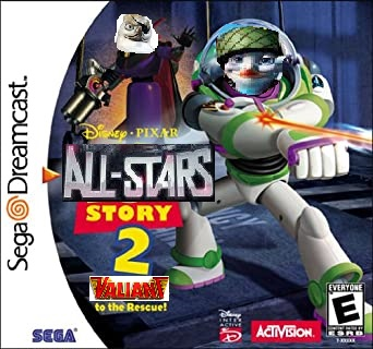 All-Stars Story 2: Valiant to the Rescue! (Sega Dreamcast Version)