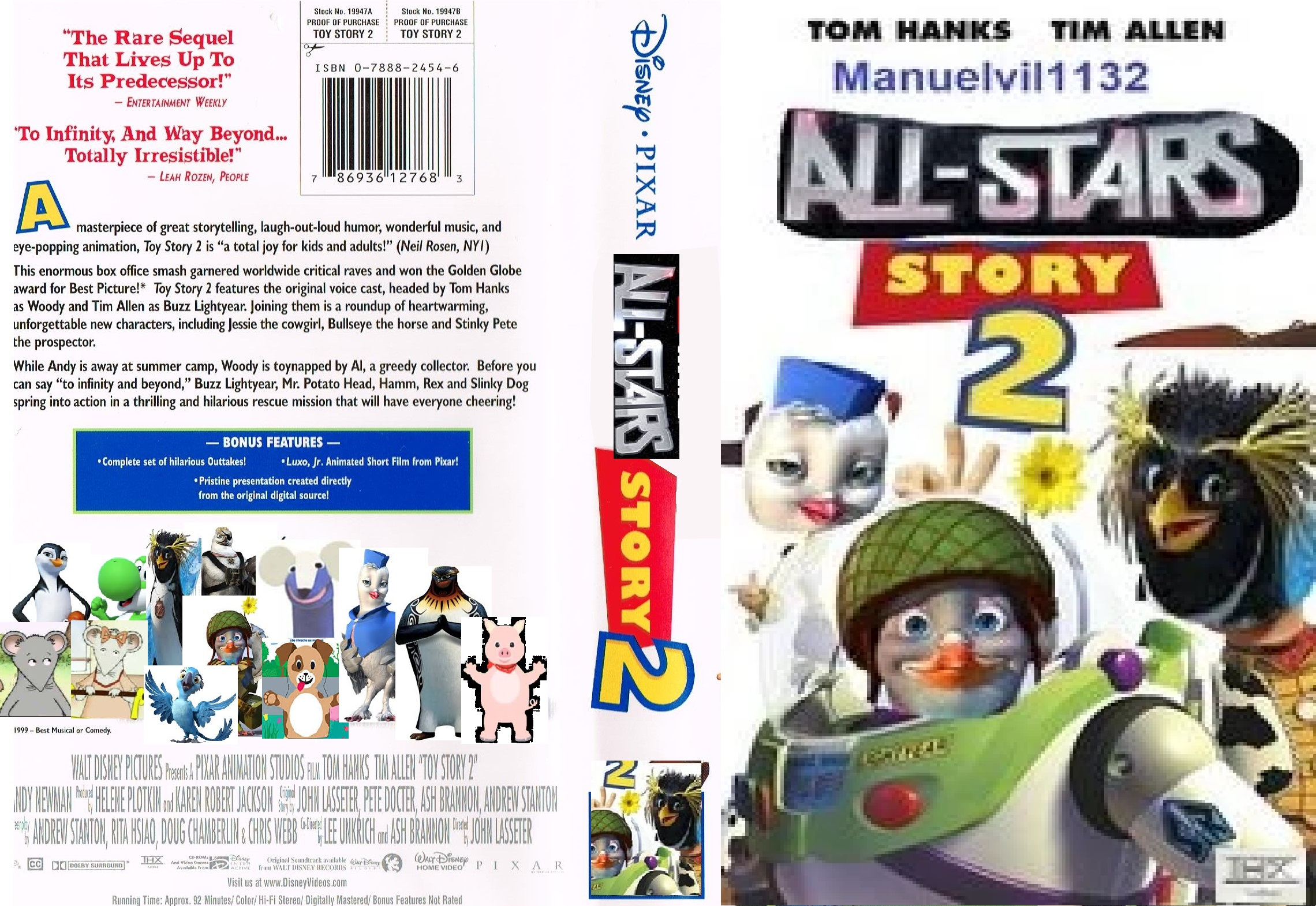 All-Stars Story 2 (VHS Cover)