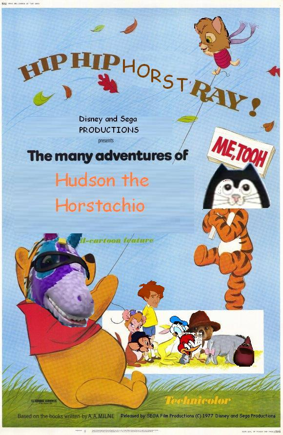 The Many Adventures of Hudson the Horstachio