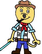 Eric Mongoose (blue saber)