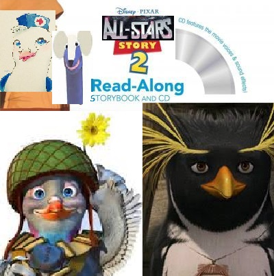 All-Stars Story 2 Read-Along Storybook and CD