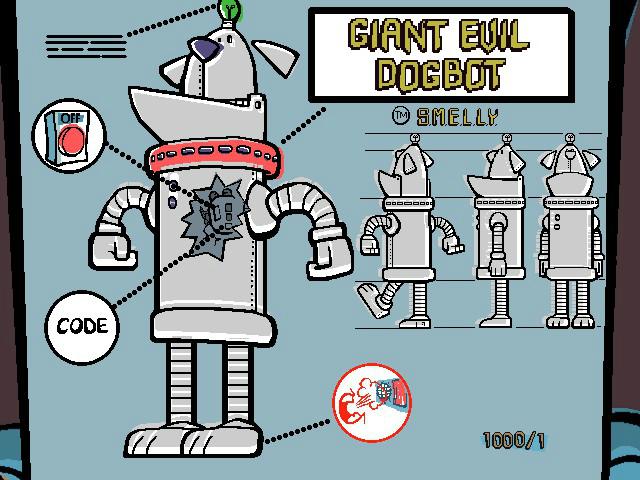 Giant Evil Dogbot