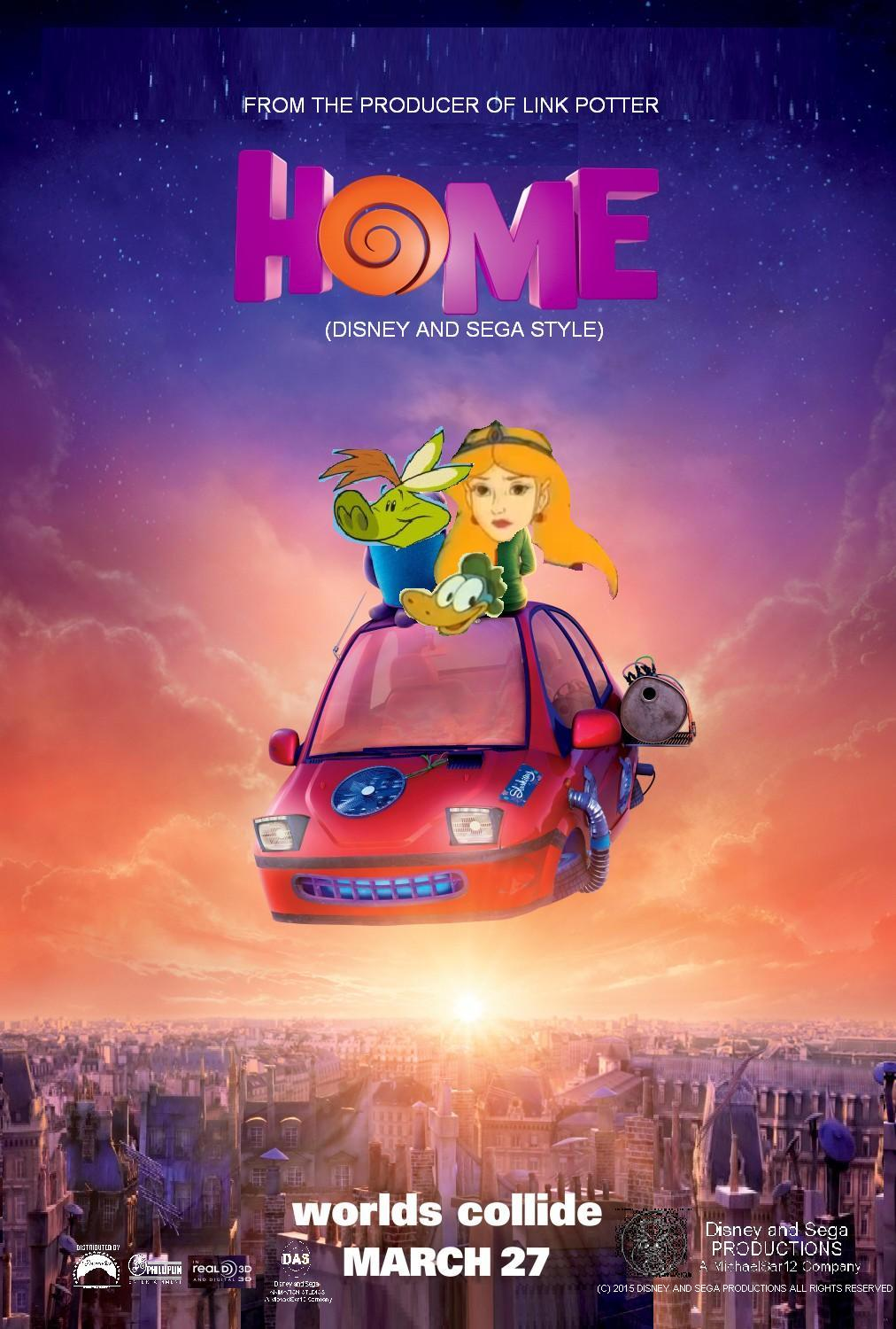 Home (Disney and Sega Style)