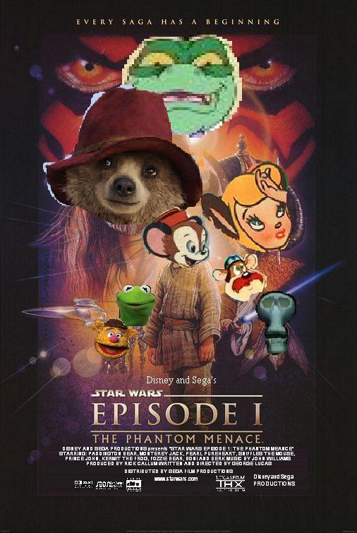 Star Wars Episode 1: The Phantom Menace (Disney and Sega Style)