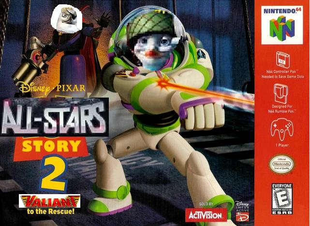 All-Stars Story 2: Valiant to the Rescue! (Nintendo 64 Version)