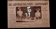 Dr. Ladybug Delivers 1,000th Baby by Thebackgroundponies2016Style