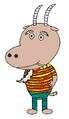 Gnorm Hill-Billies (pajamas) (pipe)