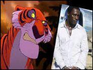 Idris Elba To Voices Shere Khan