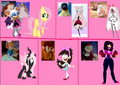 Non Disney Animal Heroines (Thebackgroundponies2016Style) Cast Meme Part 3