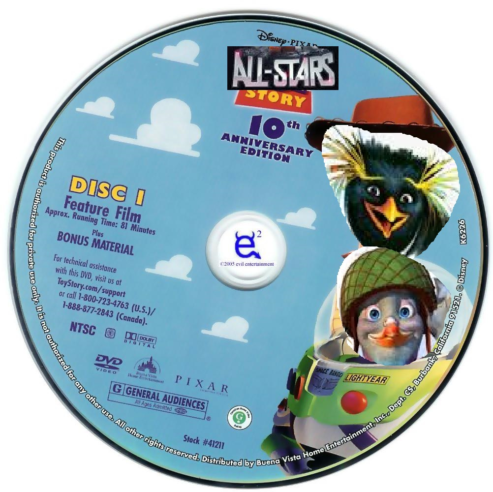 All-Stars Story 1 (DVD Disc) (Disc 1)