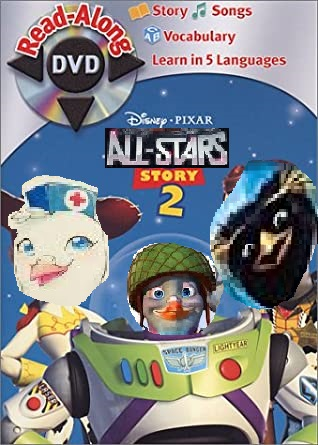 All-Stars Story 2: Read-Along DVD